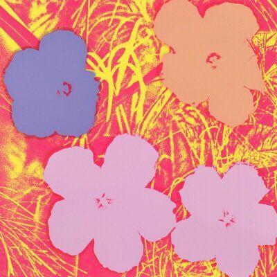 Andy Warhol - Flowers 1970