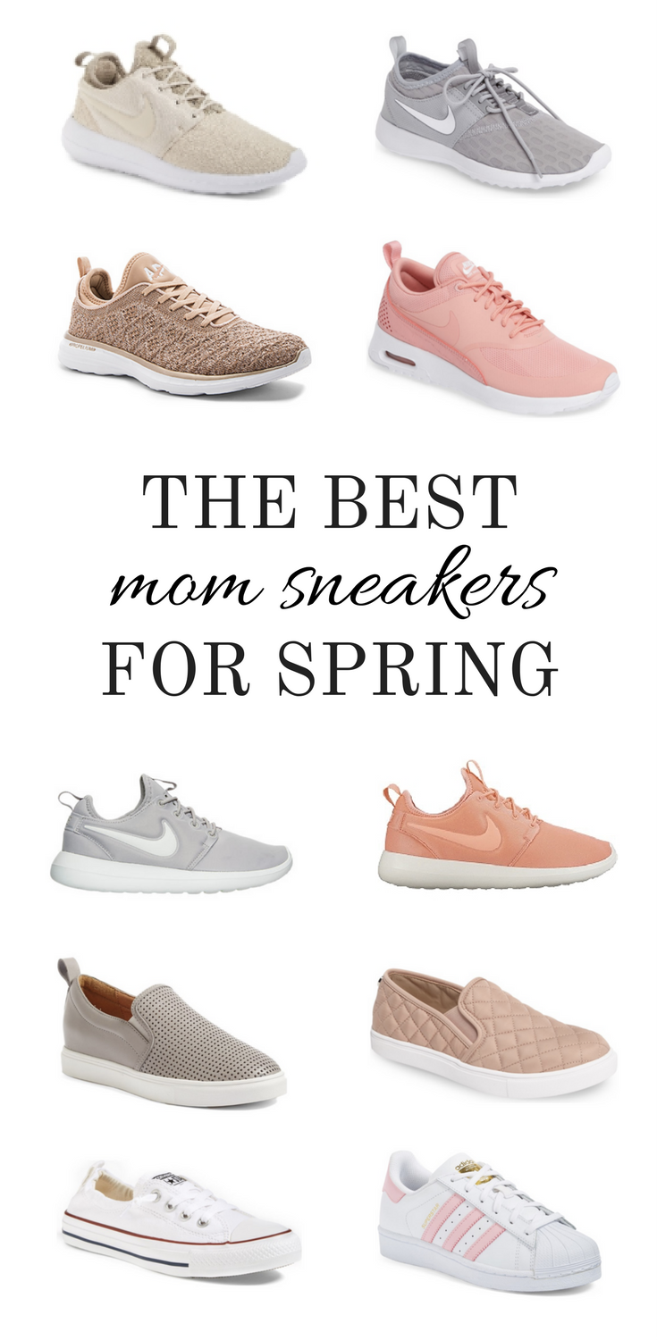 048b464a36b5 Larissa of Living in Color shares the best affordable sneaker options for  moms who don t want to sacrifice style for comfort.