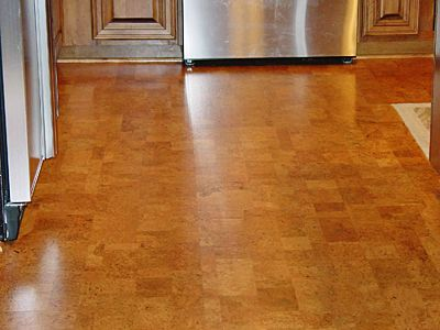 Thinking About Cork Flooring For Our Kitchen. Anyone Have Any Experience  With Cork? #homedesign #kitchen