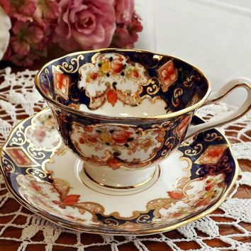 Vintage royal Albert Blossom time 4 place set - Pesquisa Google