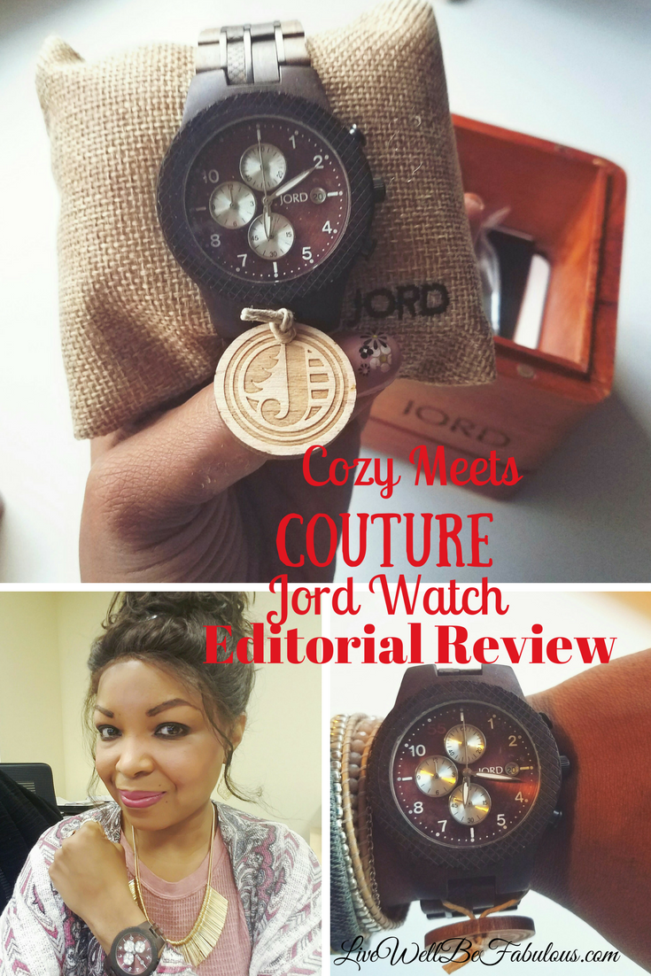 Cozy Meets Couture Jord Watch Style Editorial Giveaway! Win a $100 Credit in this awesome giveaway!