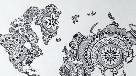 Disegni Mandala Da Colorare Tumblr Disegno Arte Disegni Mandala