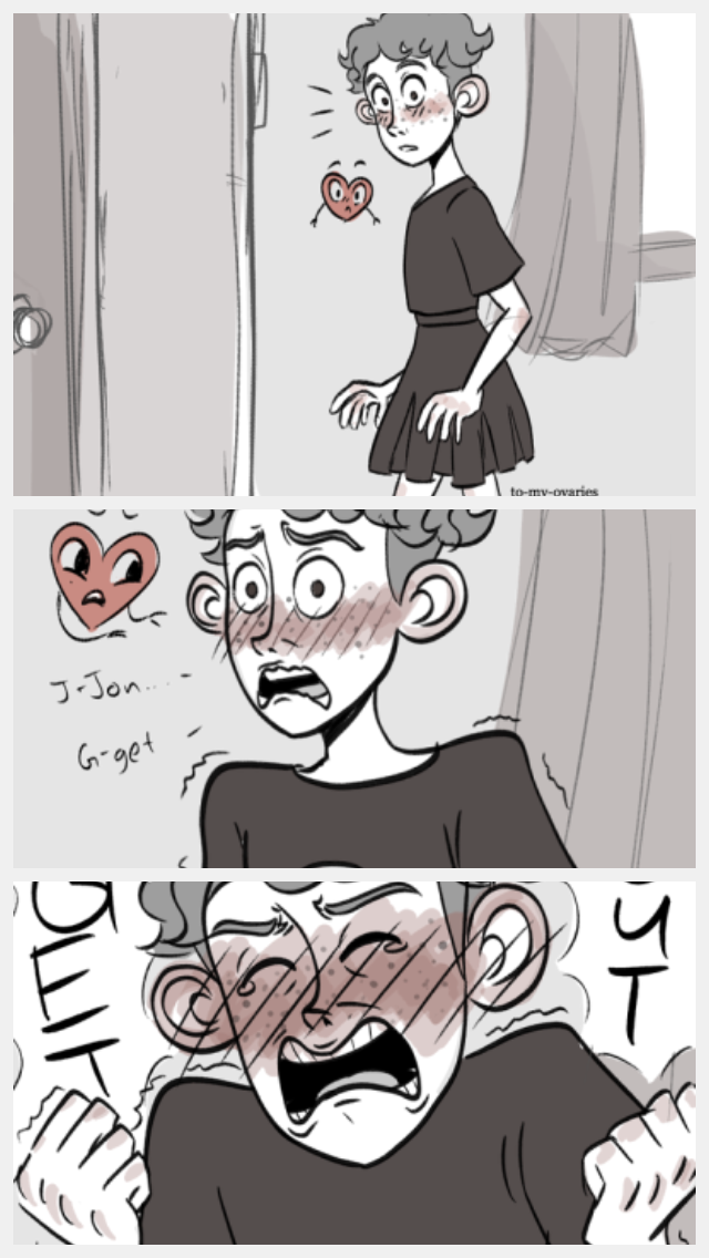 3d webcomic trans ghosts lesbian