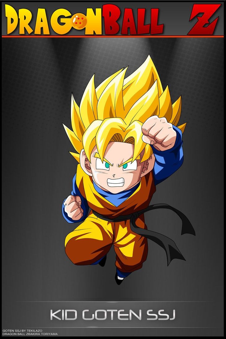 Dragon Ball Z - Kid Goten SSJ by DBCProject | Dragon ball ...