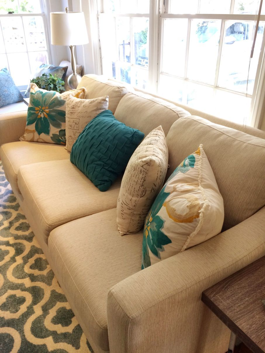 5 Best Colors To Pair With Teal House Tipster Teal Sofa Living Room Dark Teal Living Room Beige Sofa Living Room