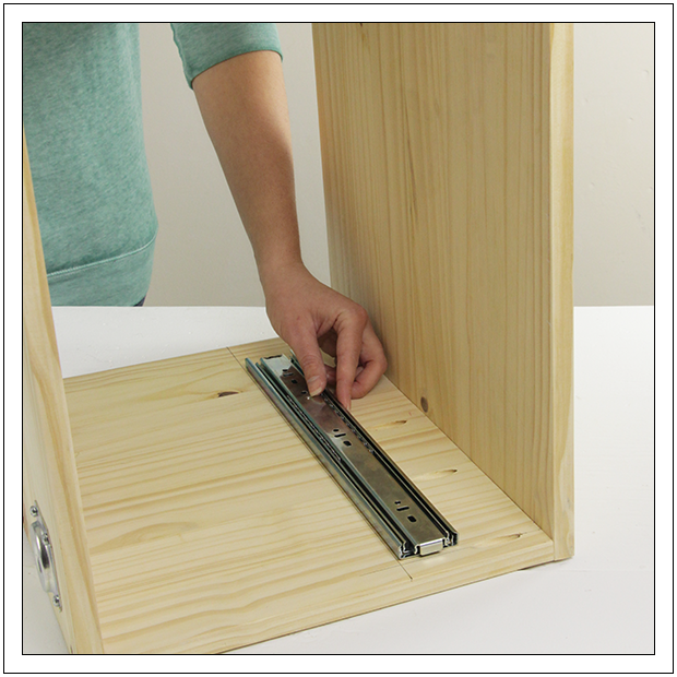 How To Install Drawer Slides Step 2 Copy Diy Drawers
