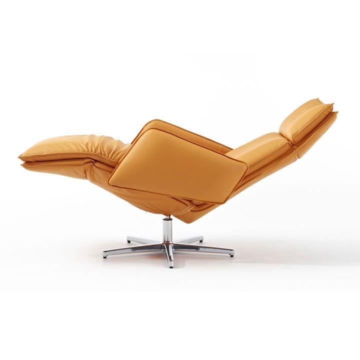 Largo Recliner Chair By Durlet Modern Recliner Modern Recliner