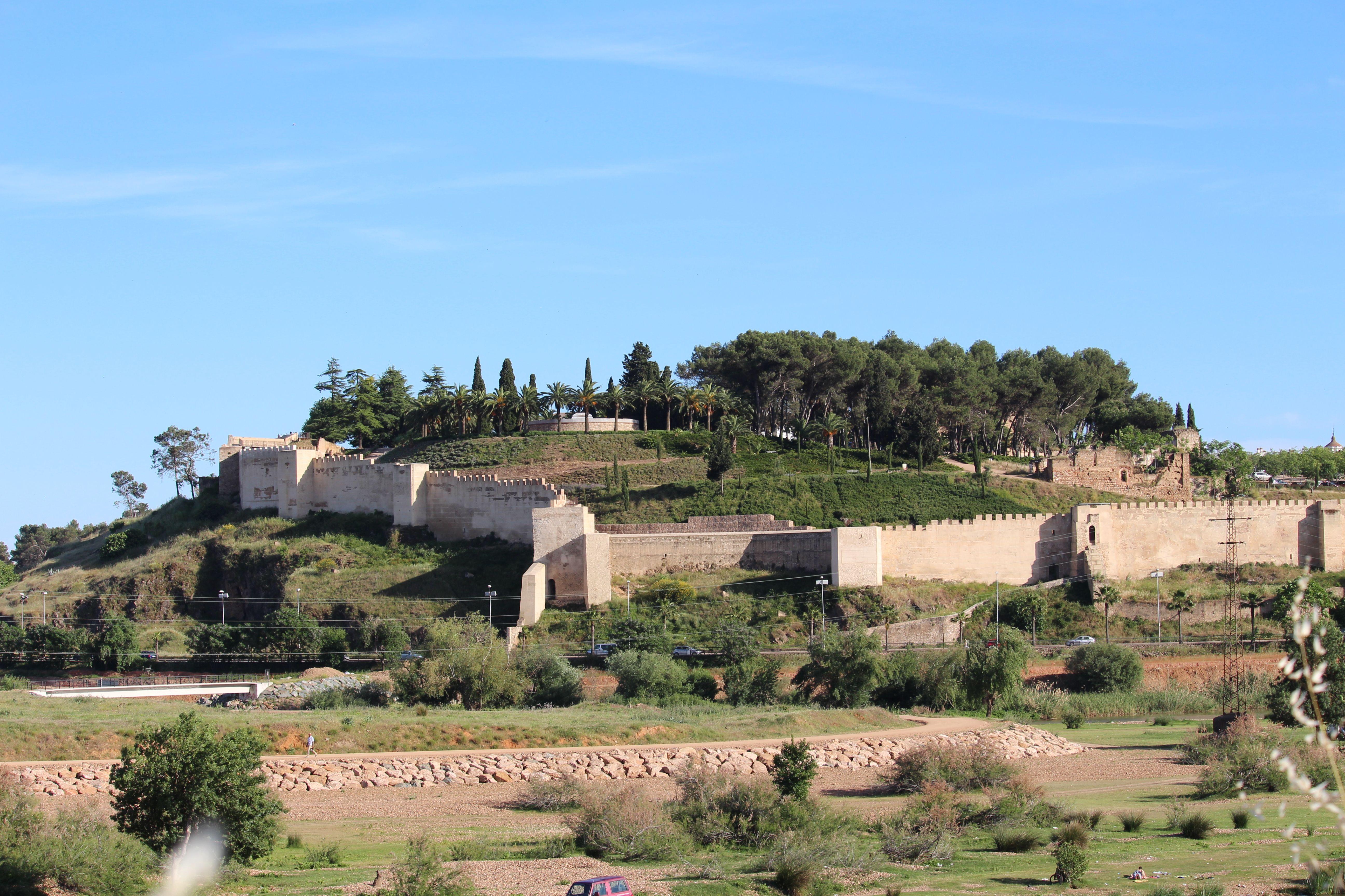 Vista general Alcazaba. Badajoz