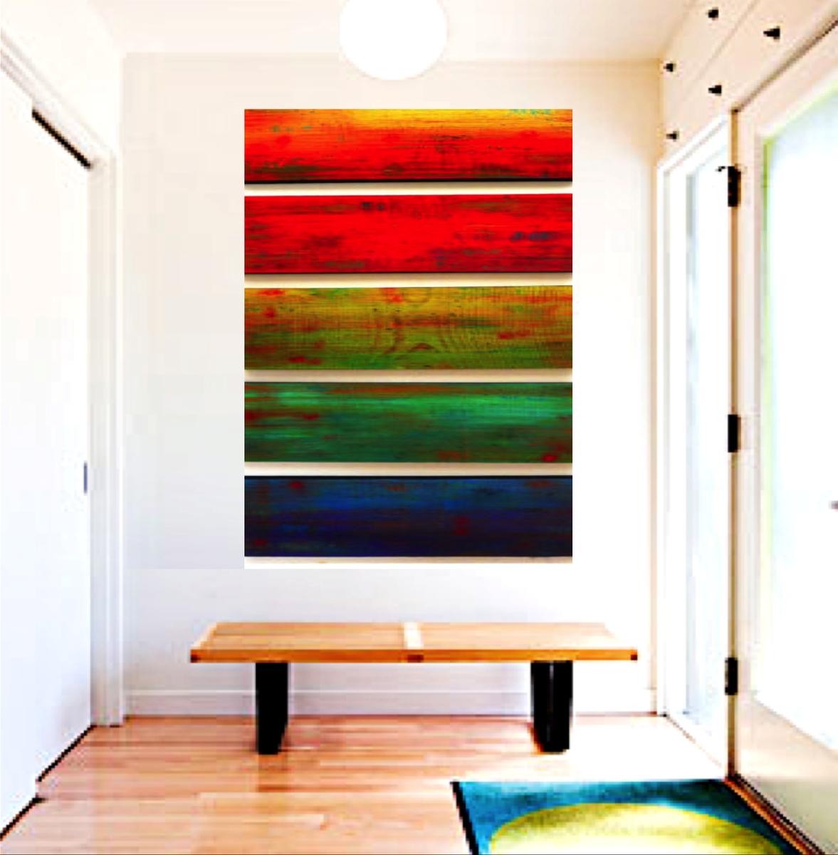 Image result for ombre artwork home design pinterest