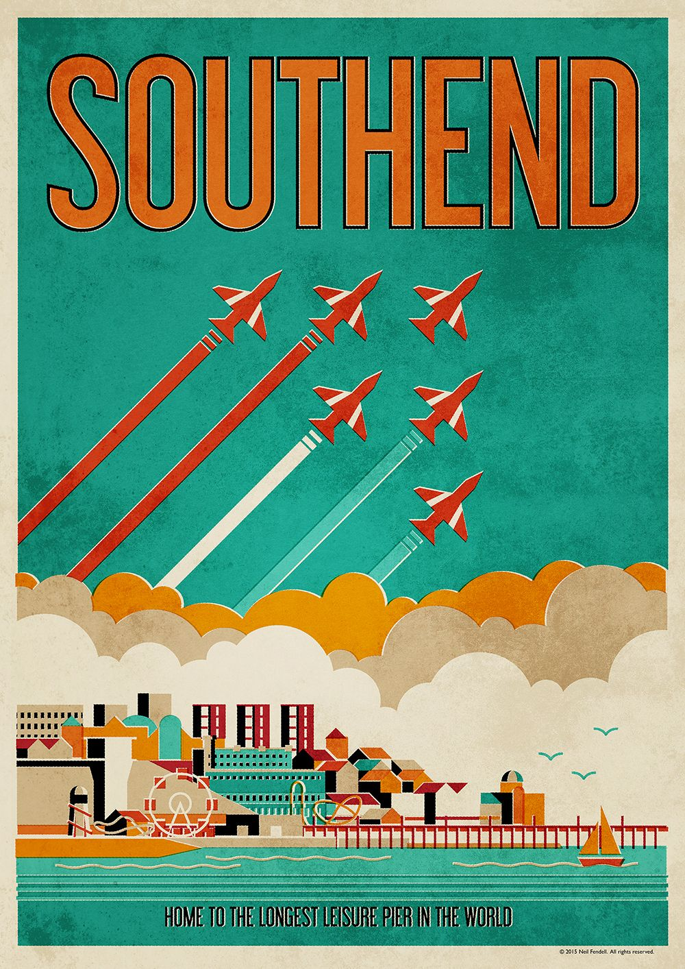 Southend Poster on Behance