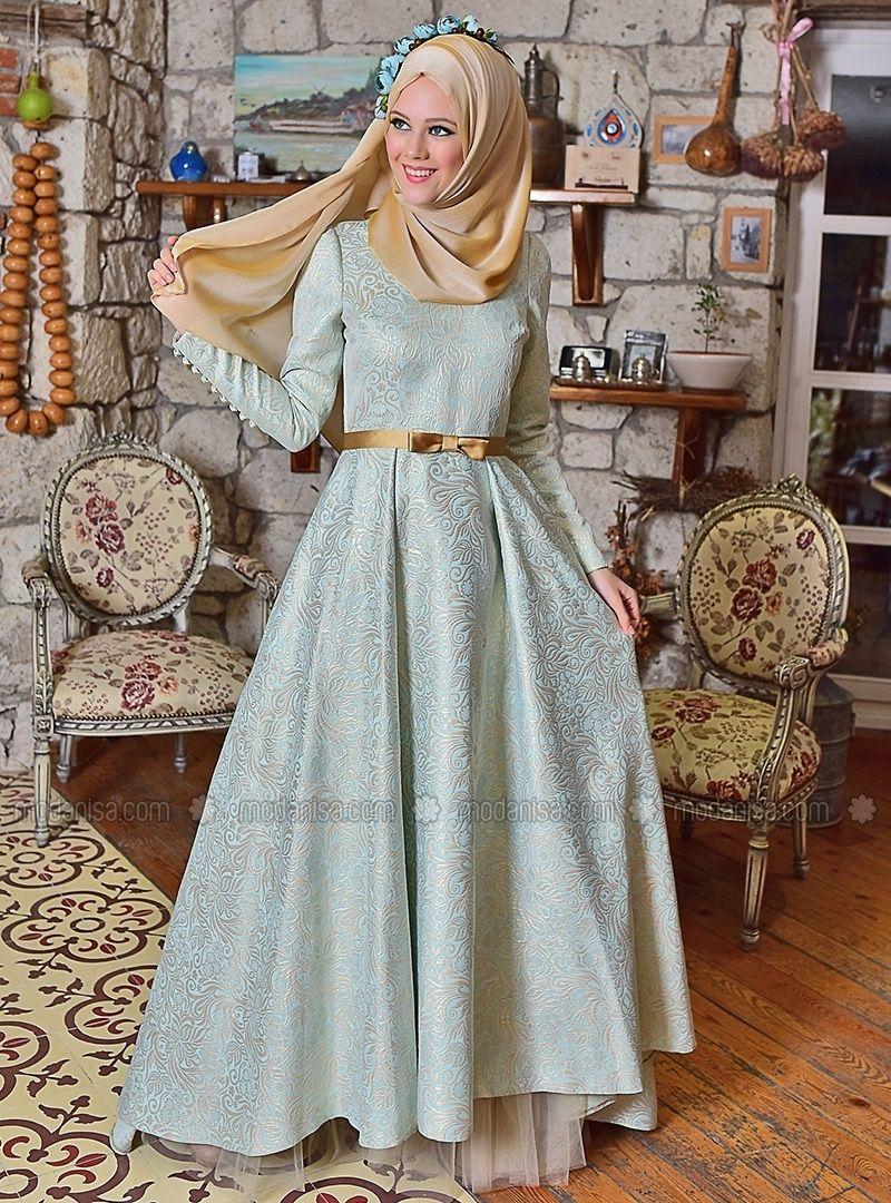 Nora yeni sezon tesettür giyim mezuniyet elbisesi modelleri