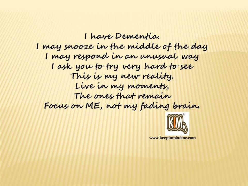 how to connect with someone with dementia