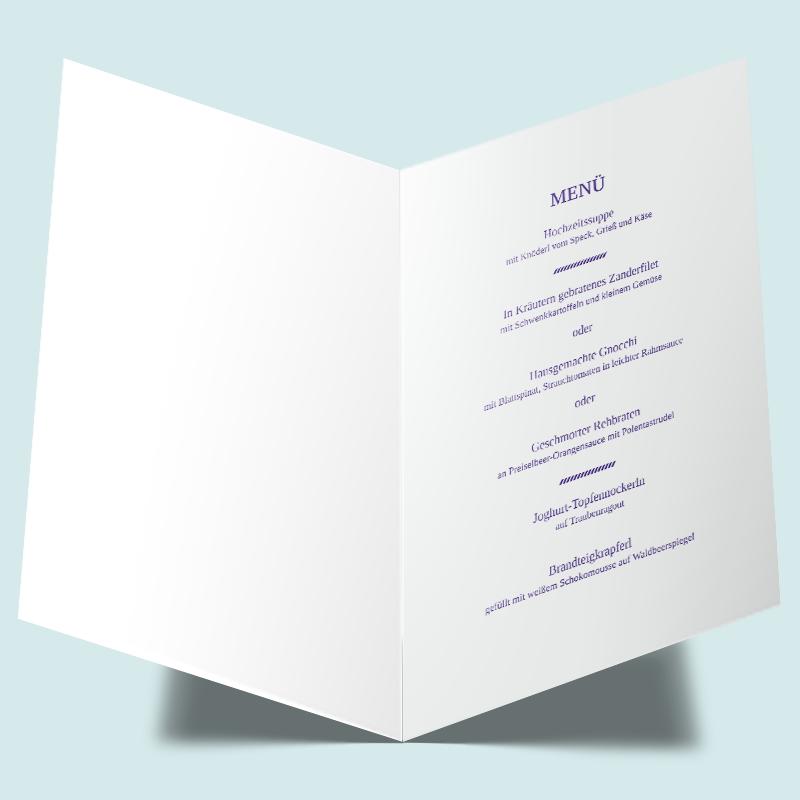 Menukarten Verknupft Hochzeitskarten Set Verknupft Pinterest