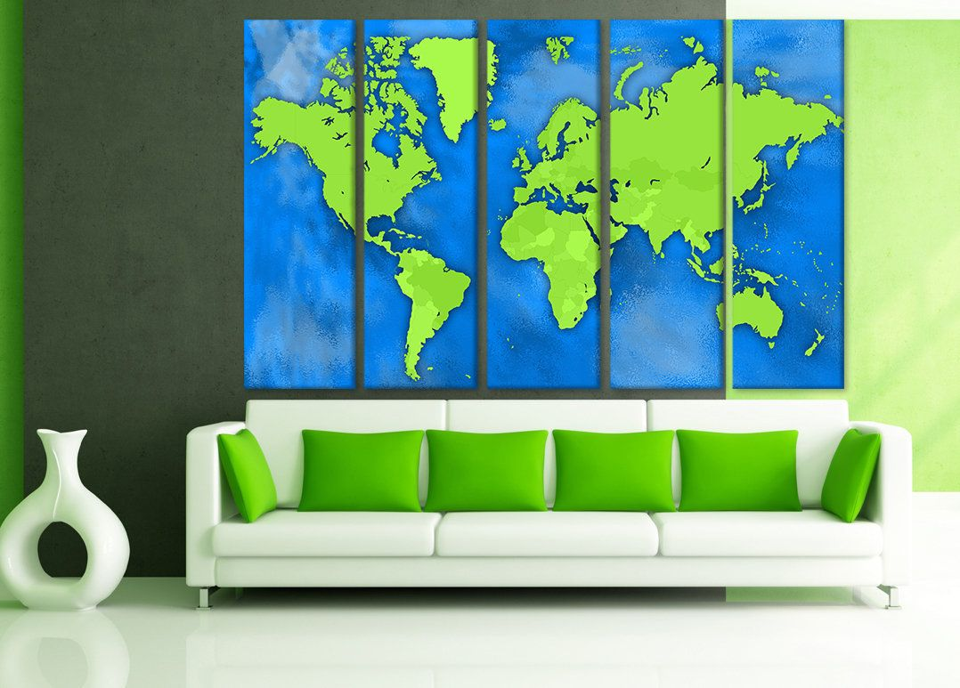 Map of the world travel framed large posters large world map poster map of the world travel framed large posters large world map poster large wall world maps world map wall panels prints painting home decor gumiabroncs Choice Image