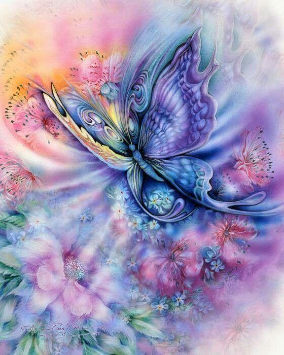 Mariposa de color