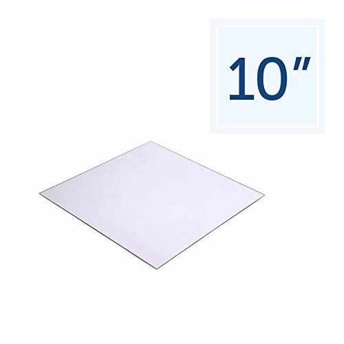 "12 pcs x Square 10"" Glass MIRROR Wedding Centerpieces"