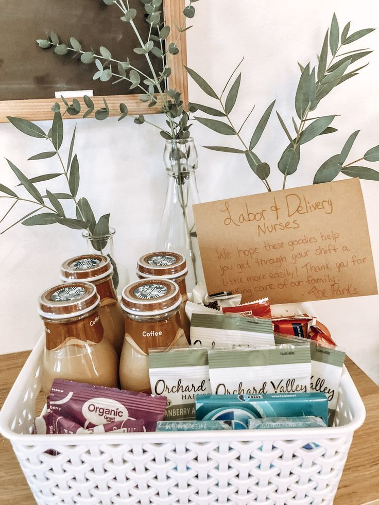 Dont about your labor and delivery nurses basket