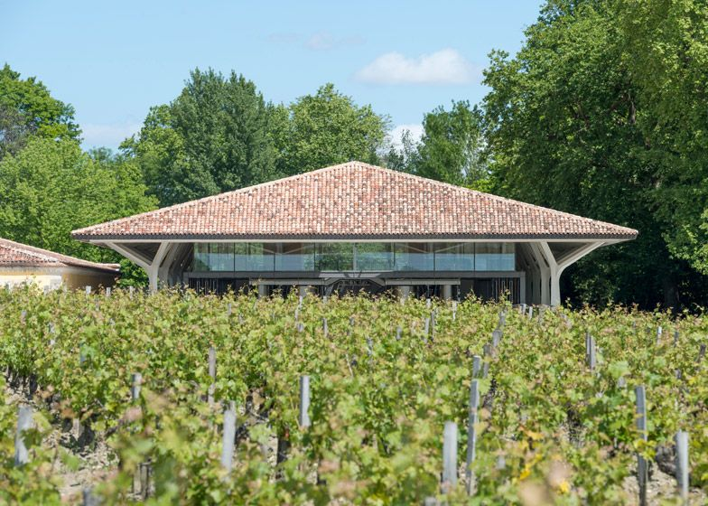 Foster + Partners adds a winery to the Chateau Margaux estate