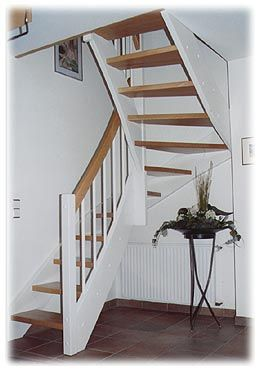 treppen 1 2 gewendelt buche wei stairs pinterest. Black Bedroom Furniture Sets. Home Design Ideas
