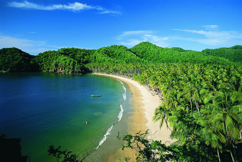 Puerto la Cruz Parco Mochima Belle plage, Plage, Caraibes
