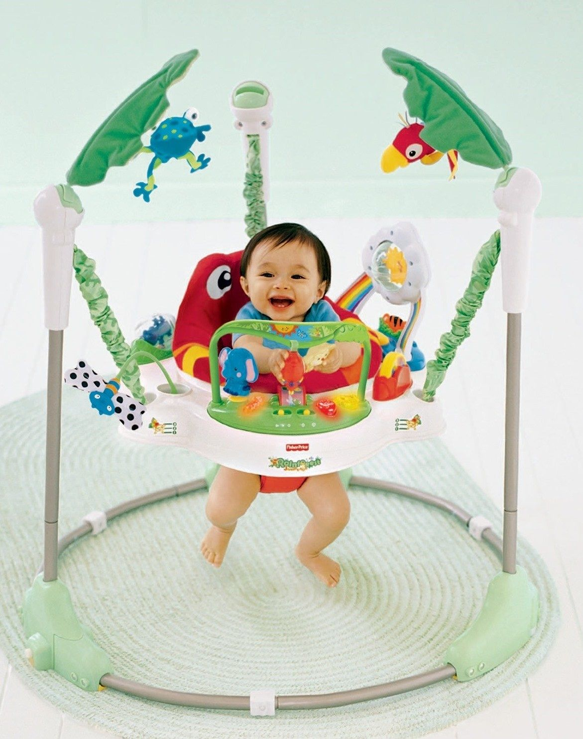 fisher price bounce and spin puppy instructions