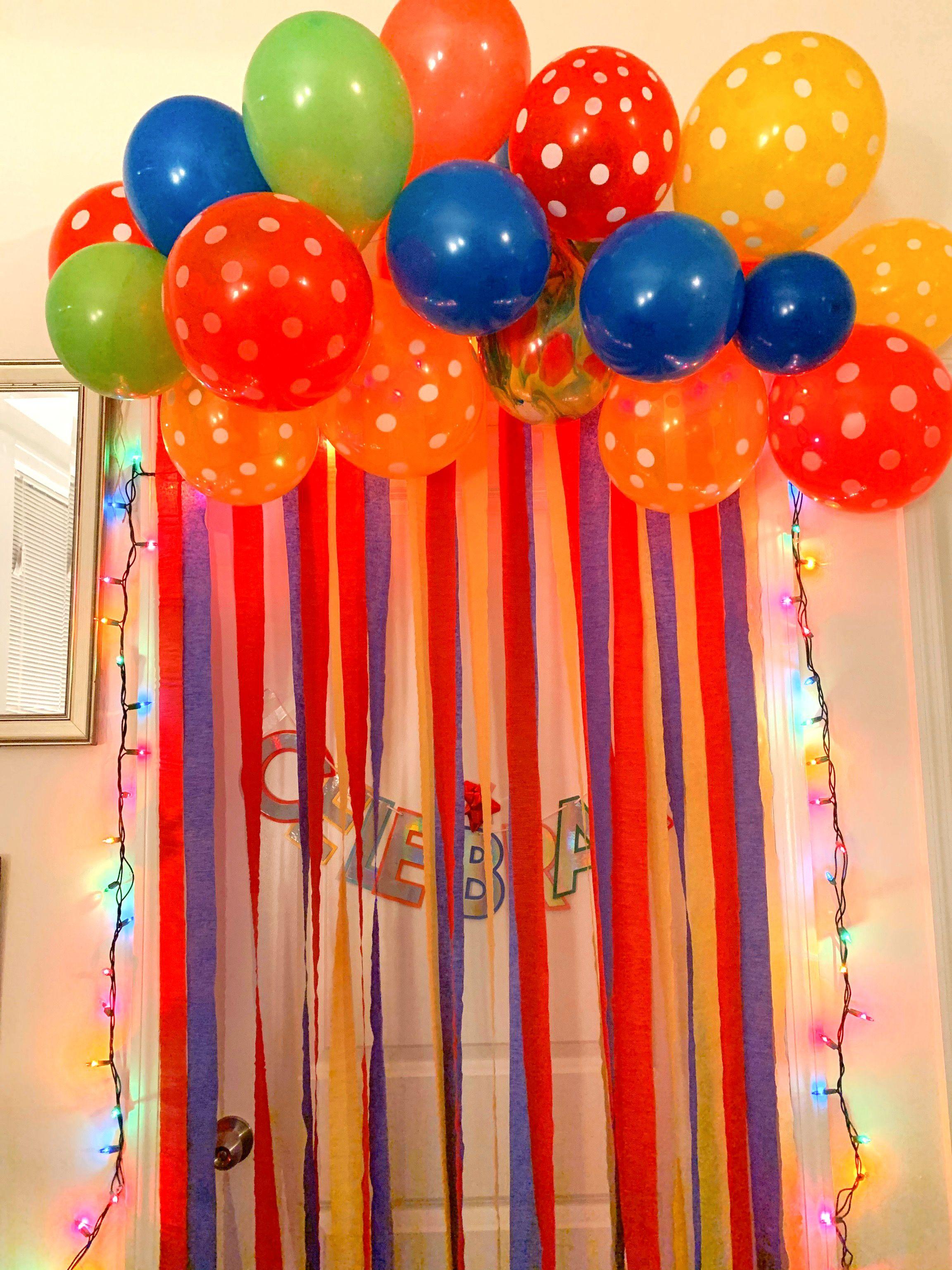 Birthday Bedroom Door Decor Birthday Door Decorations Surprise Birthday Decorations Birthday Morning