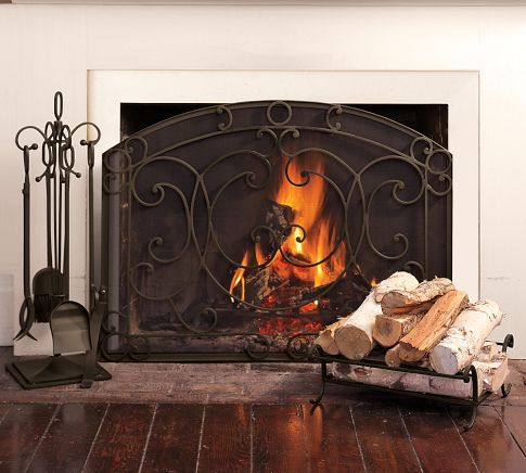 Aspen Fireplace Single Screen With Images Classic Fireplace Fireplace Screens Fireplace