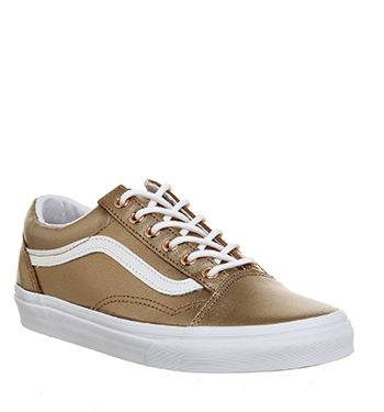 vans old skool gold