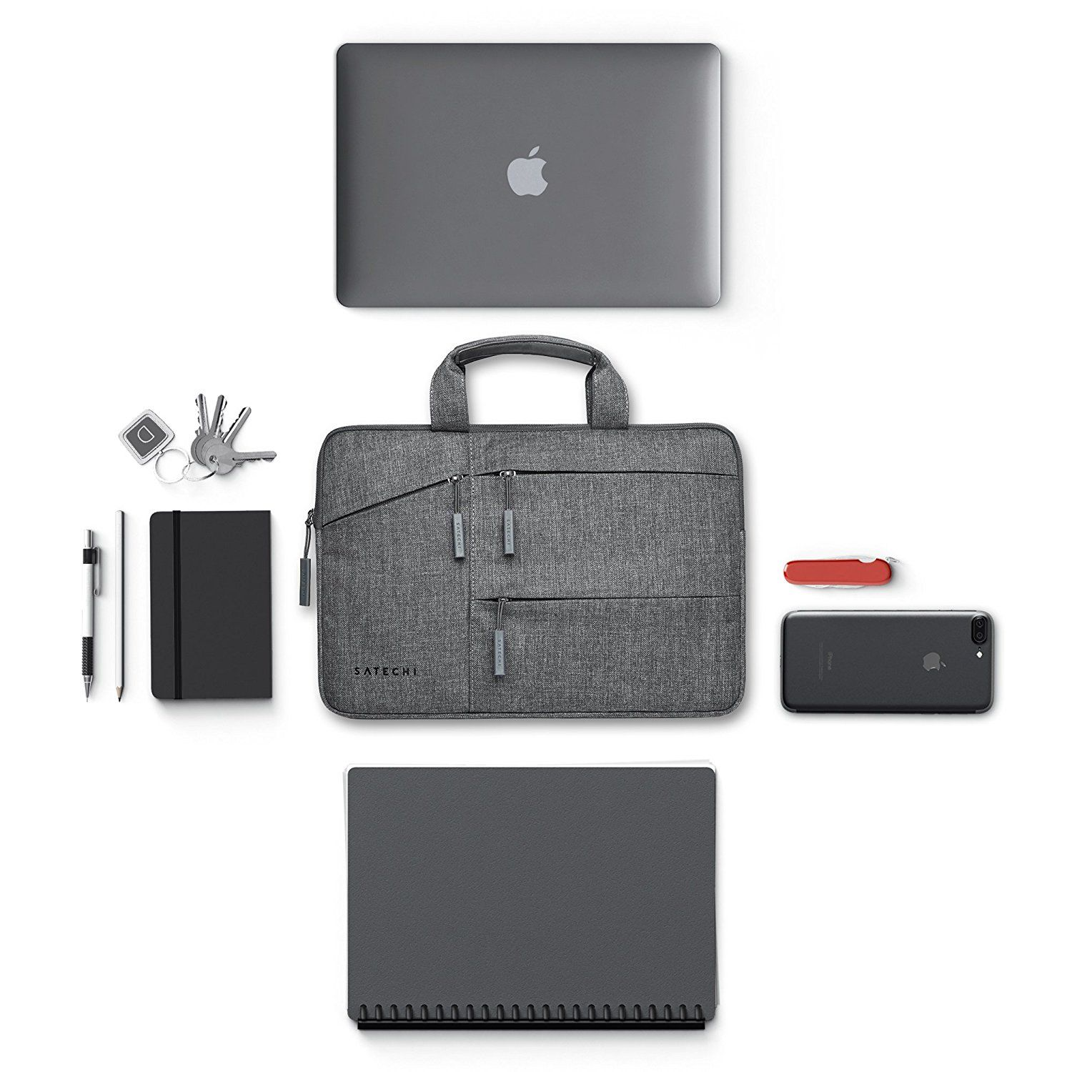 5046b63ff422 Amazon.com: Satechi Water-Resistant Laptop Bag Carrying Case w ...