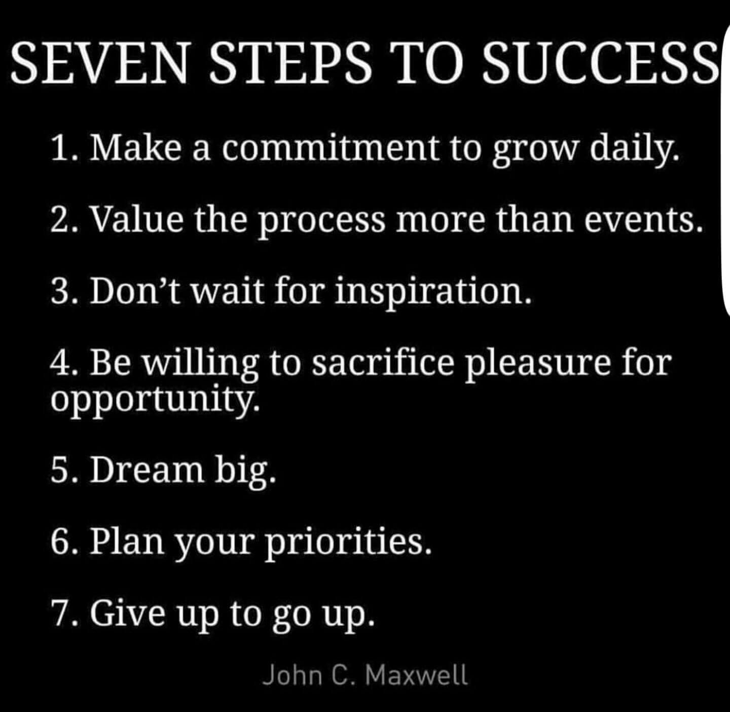 Seven Steps To Success By Author Amp Motivational Speaker