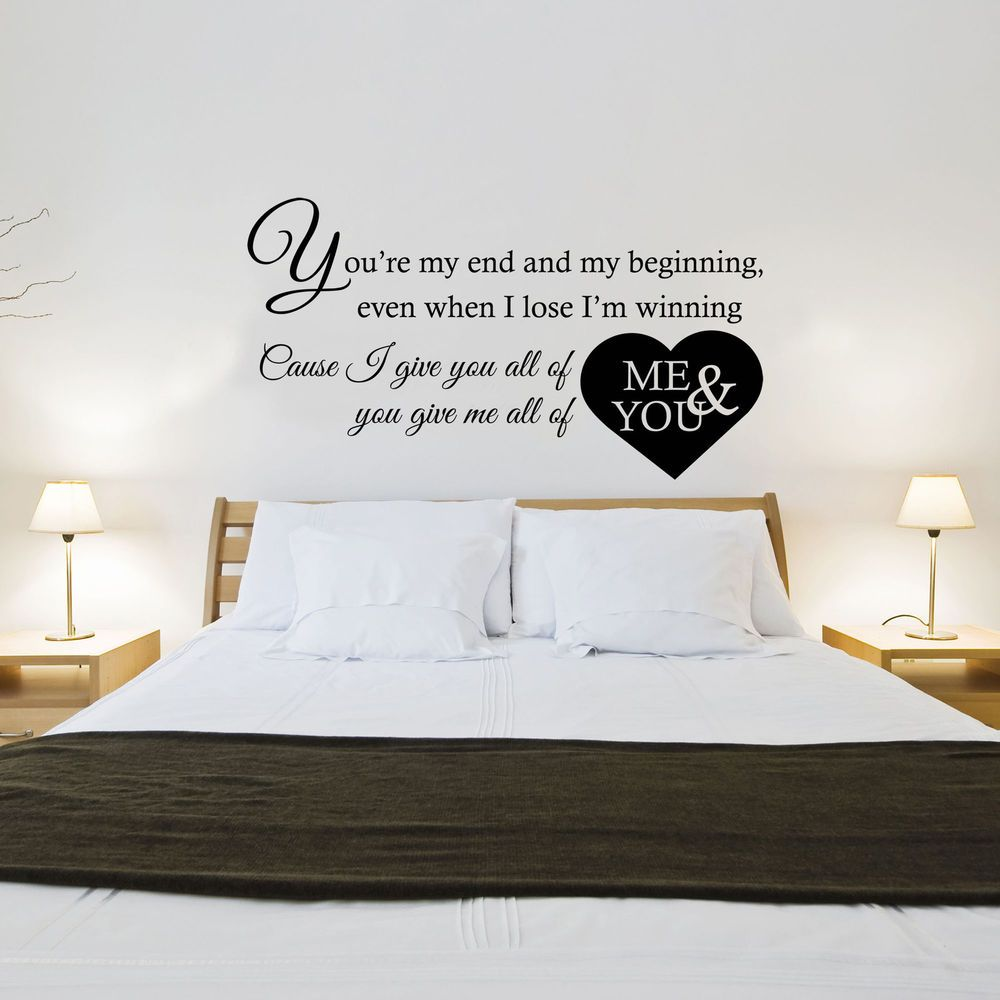 John legend   all of me song lyrics   wall art sticker decal transfer. John legend   all of me song lyrics   wall art sticker decal