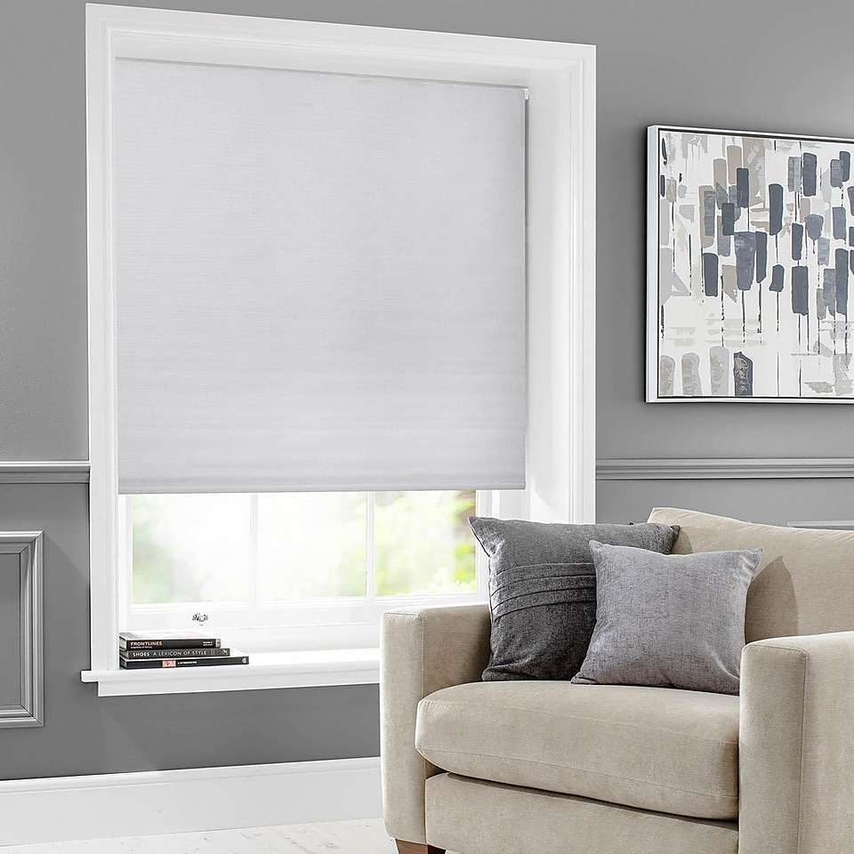 Bexley Dove Grey Auto Blackout Roller Blind Dunelm With