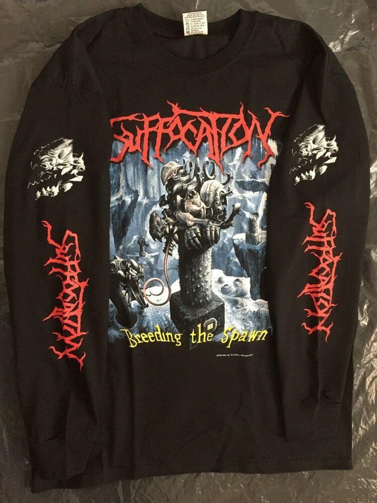 Emperor Rider Pentagram Long Sleeve T-Shirt Sz S M L XL 2XL 3XL Black Metal Band