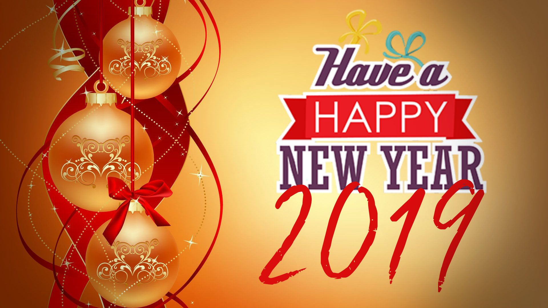 Happy New Year 2019 Wallpapers HD #HappyNewYear #happynewyear2019