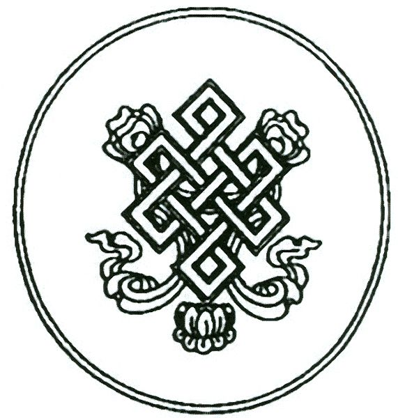 Tibetan Knot Of Eternitye Endless Knot Has Been Described As An