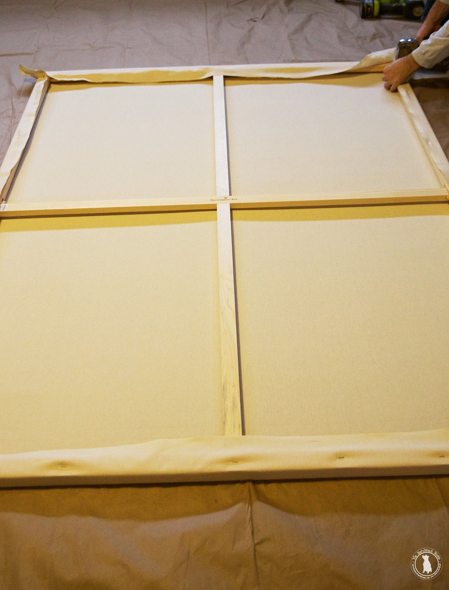 how to stretch your own canvas Diy canvas frame, Frames