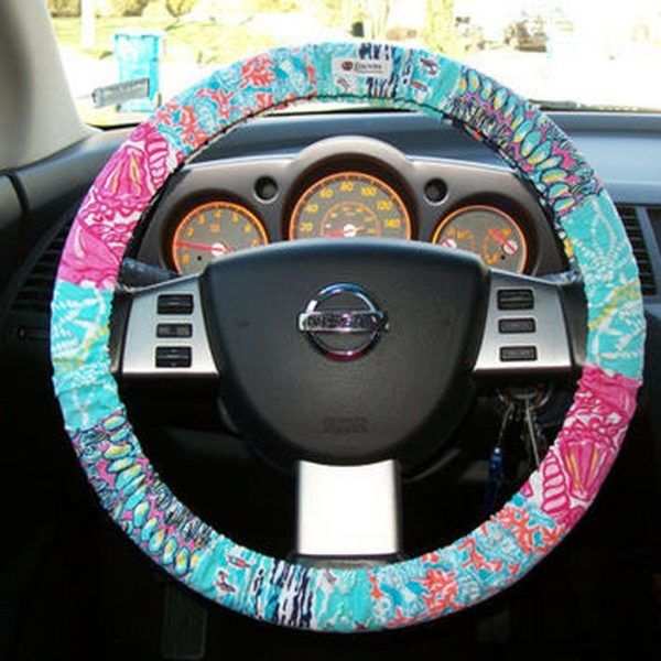 Steering Wheel Cover Boho Car 12