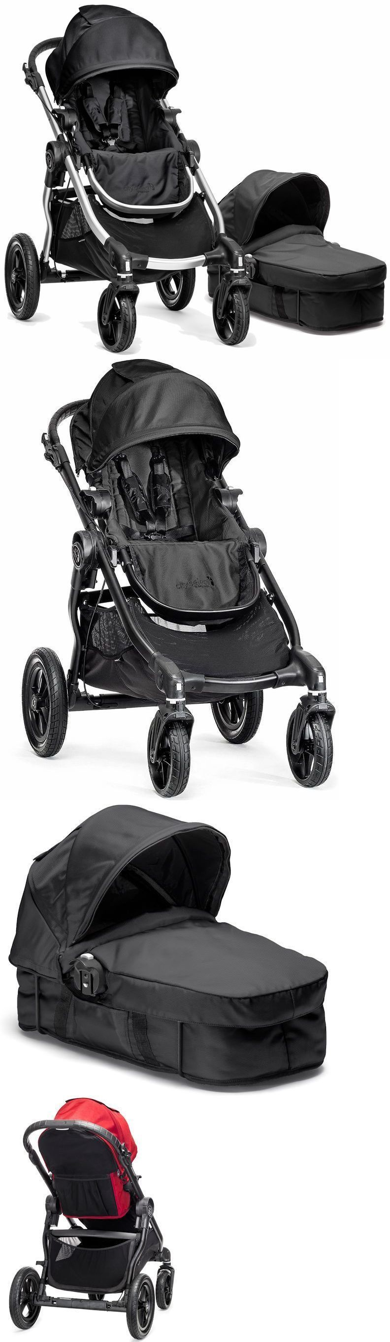Other Baby Gear Baby Jogger City Select Stroller yx W Bassinet Pram System Travel