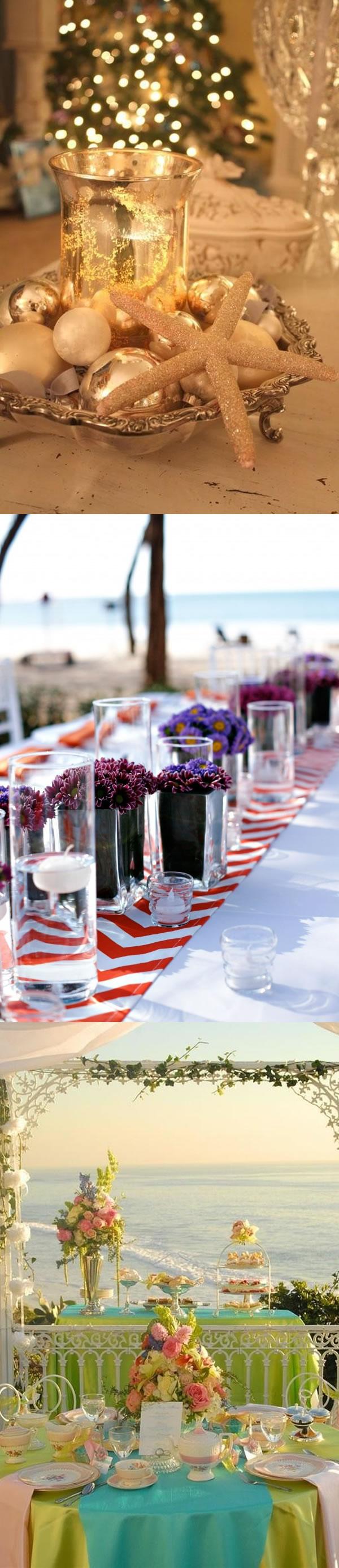 Outdoor wedding decor beach wedding table decor ideas beach outdoor wedding decor beach wedding table decor ideas junglespirit Gallery