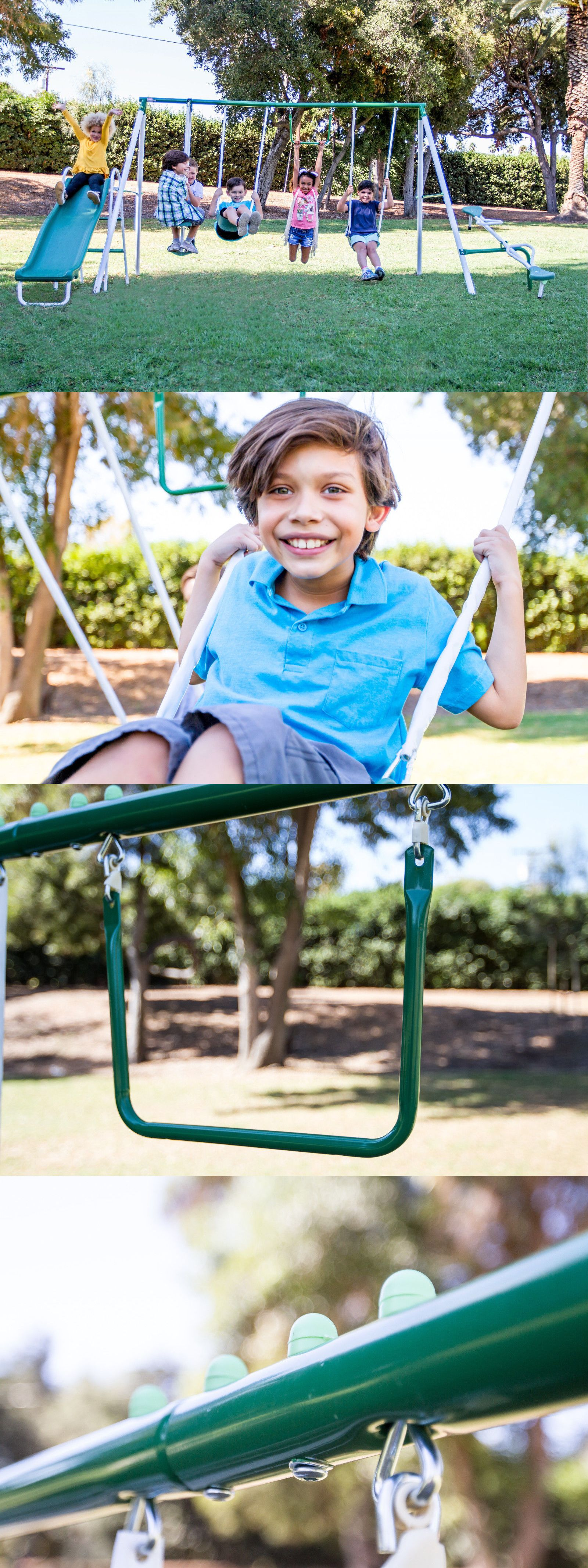 Swings Slides And Gyms 16515 New Sportspower Outdoor Live Oak Metal