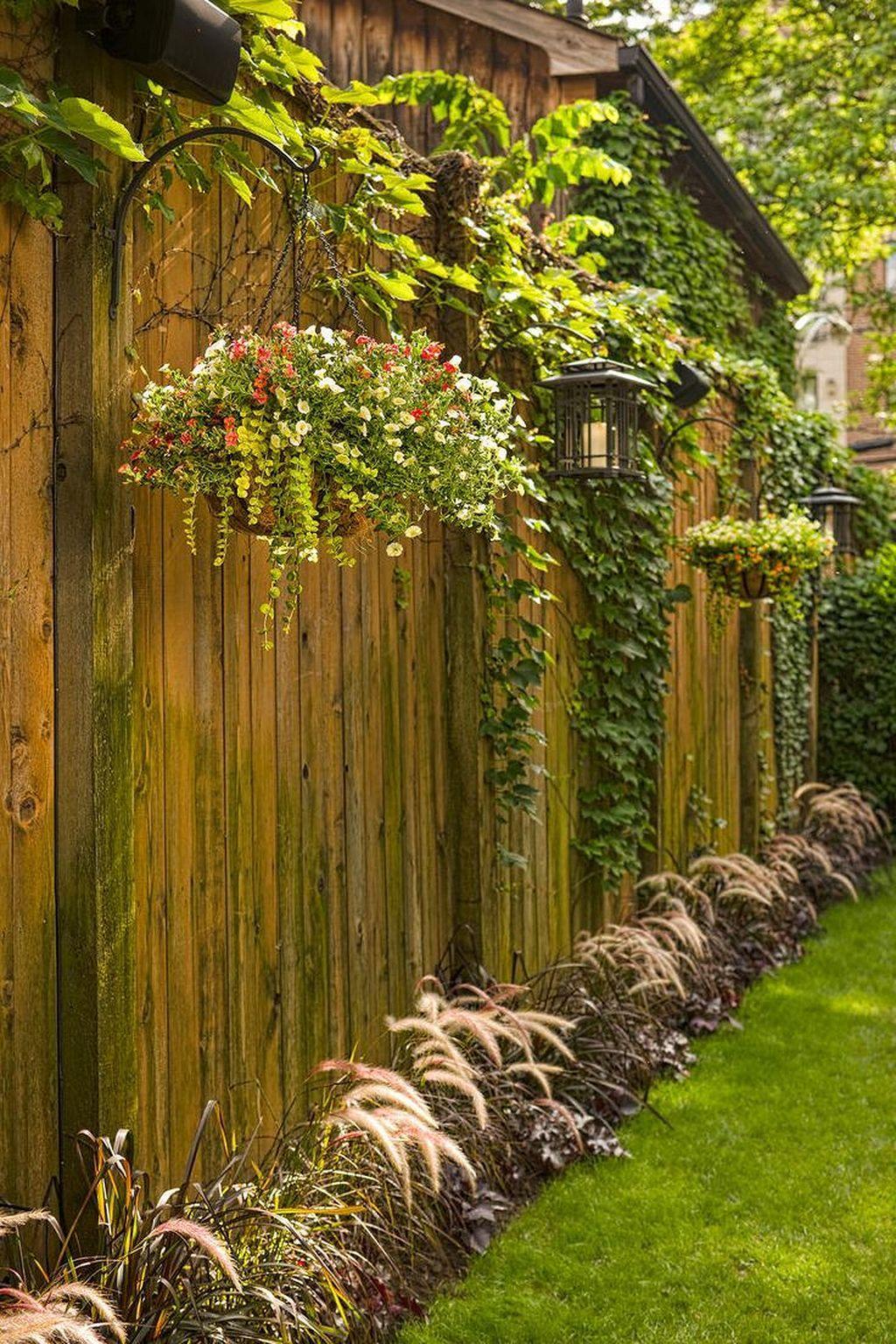 Enchanting Fence Retaining Wall Ideas Mold - Art & Wall Decor ...