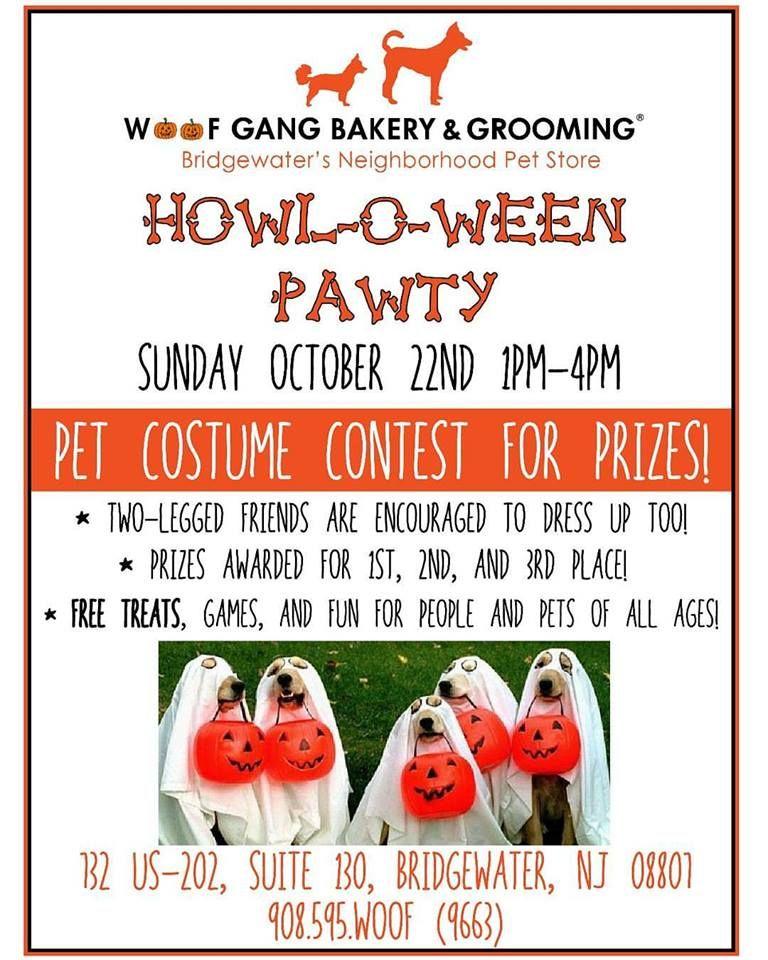 Woof Gang Bakery Bridgewater New Jersey Pet Costumes