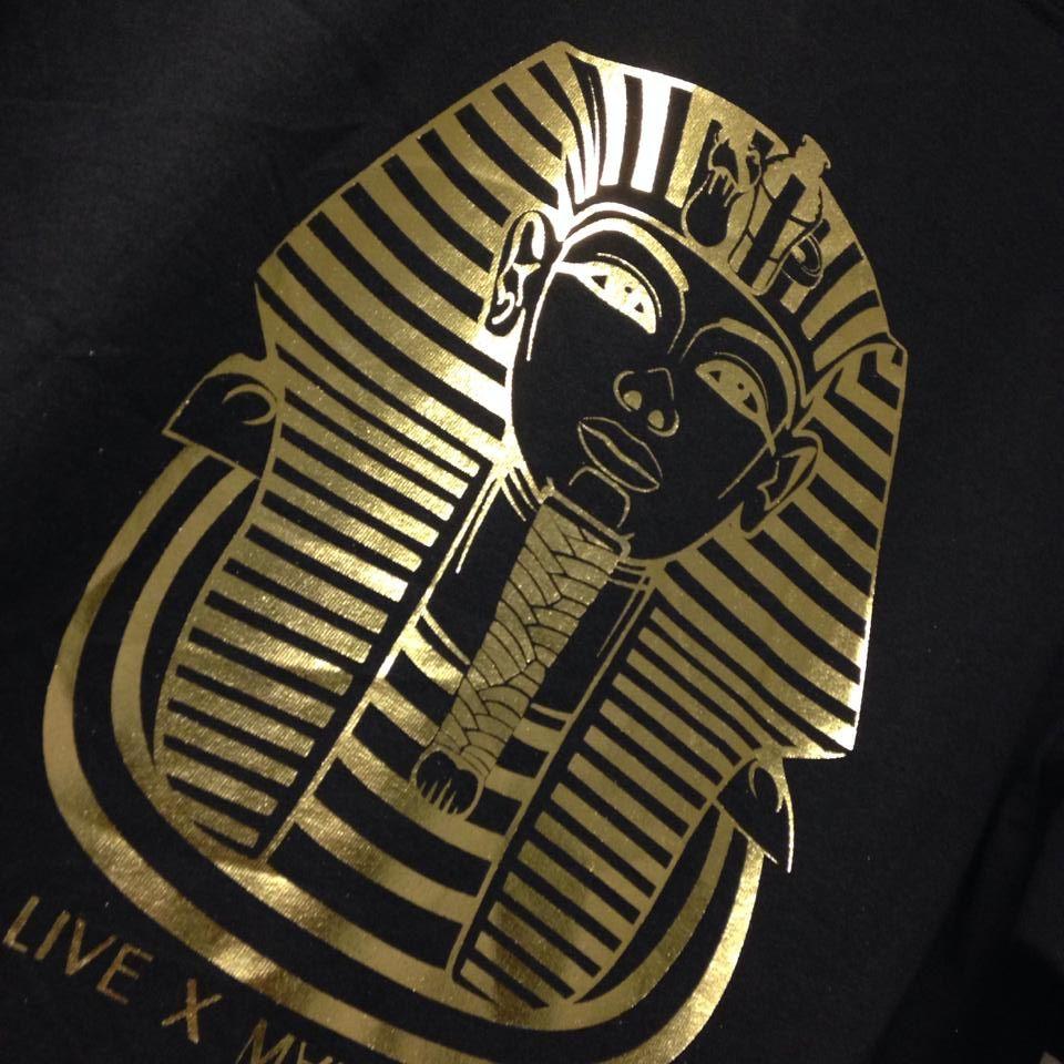 Gold Foil T Shirt Printing Screen Printing Pinterest Prints