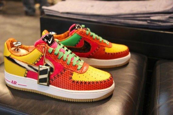 top fashion 2a9e2 20f7a Nike Air Force 1 Bespoke by Afrokix