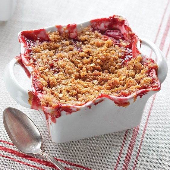 Topped With A Crunchy Oat And Brown Sugar Crumble This Sweet
