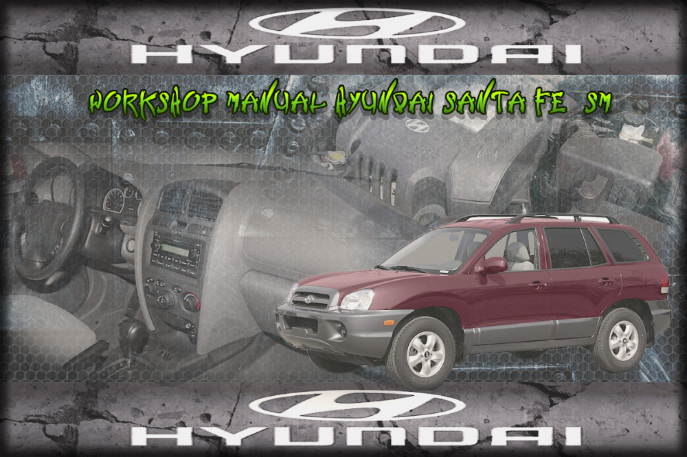 Manual De Taller Y Reparacion Profesional Hyundai Santa Fe 2005 2006 Reparacion Manuales De Reparacion Taller