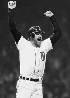 Kirk Gibson Detroit Tigers Baseball Mlb American League Michigan Sports