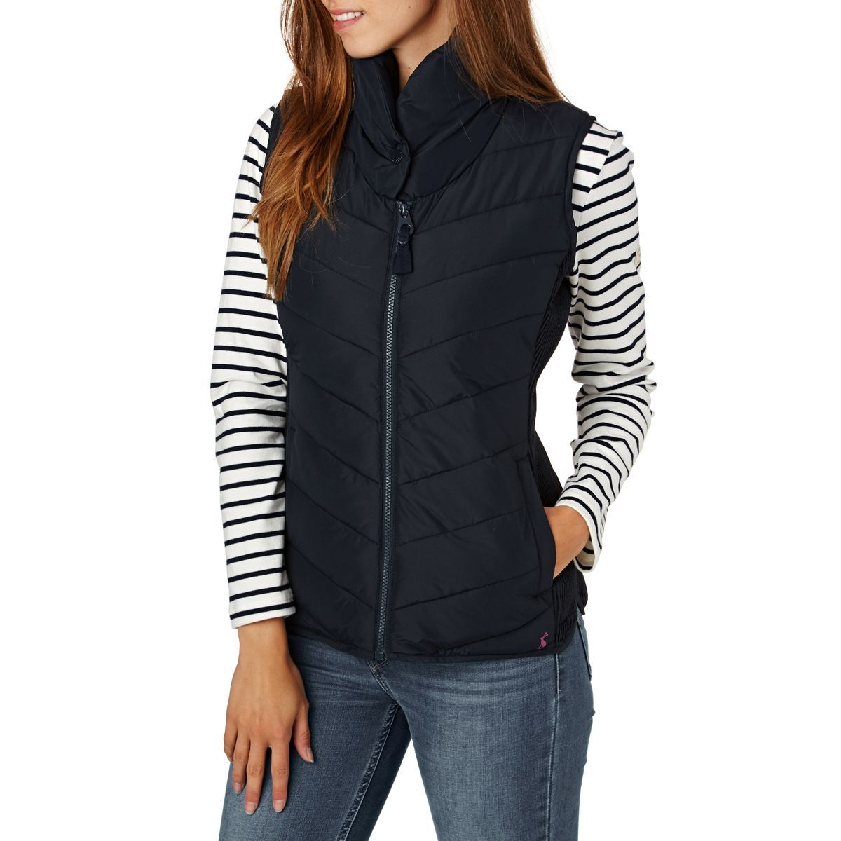 5faa5a24650 Buy Joules Larkhill Gilet Marine Navy with great prices, Free ...