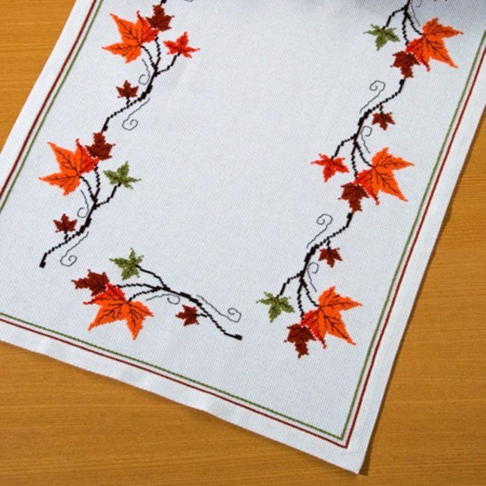 Листья картинки для вышивки