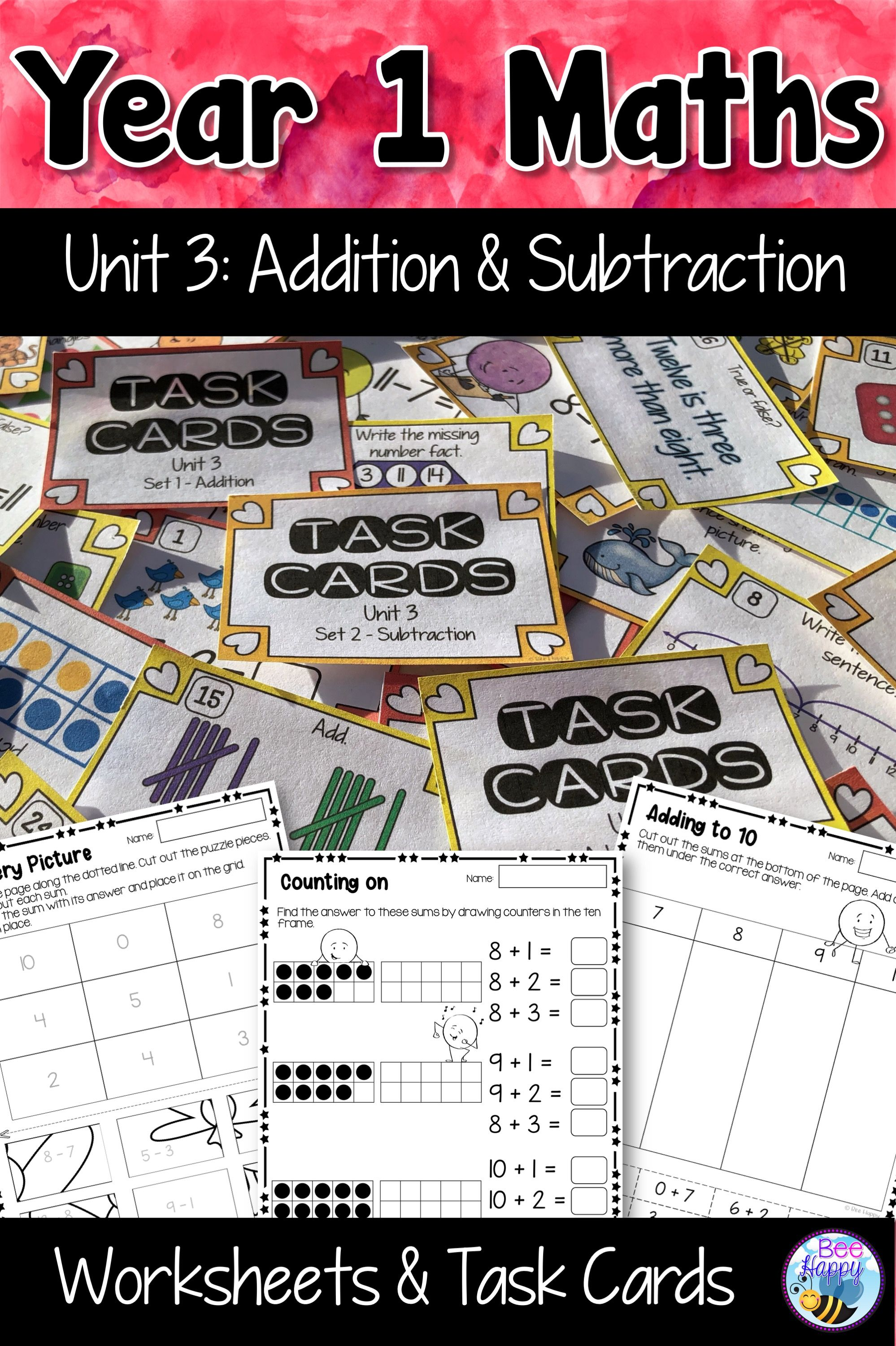 Australian Curriculum Addition And Subtraction Worksheets